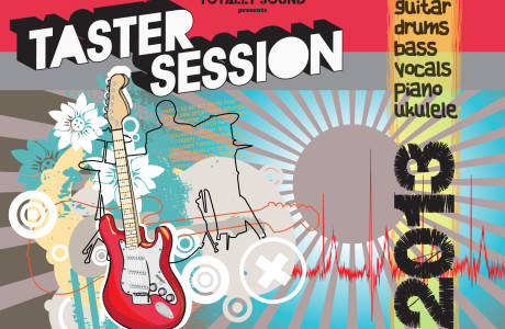 Totally Sound Taster Session Flyer A5 front