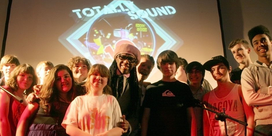 Totally Sound 'Get Lucky' with Nile Rodgers…. Freak Out!