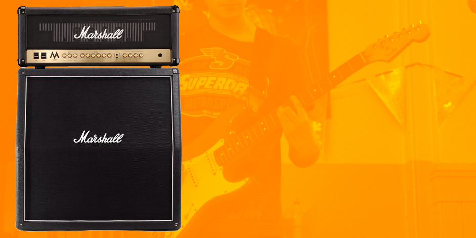 Totally Sound tutors' fundraising buys new Marshall Stack!